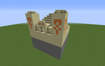 Default Desert Temple (Facing North):