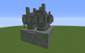 Default Jungle Temple (Facing South):