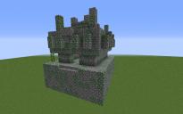 Default Jungle Temple (Facing South):