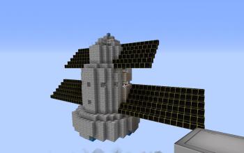 Satellite style ship