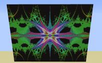 Freaky Eyes Fractal Pixel Art