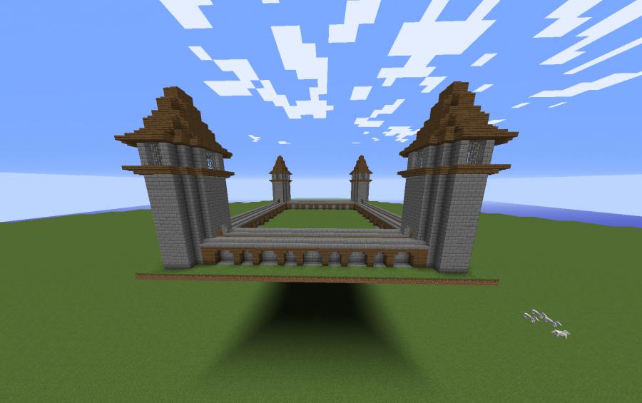 Small Castle Walls Creation 6946