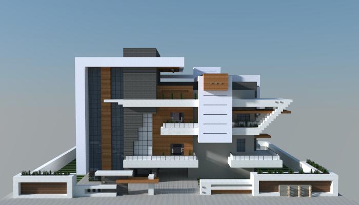 Modern House Creation 6962