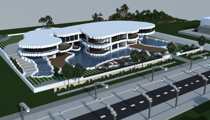 Modern Mansion Creation 7012