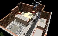 Themed prison mine