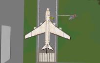 White Jumbo Jet