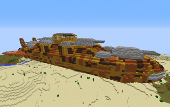 Stormcloud Class Battleship (Desert Version)