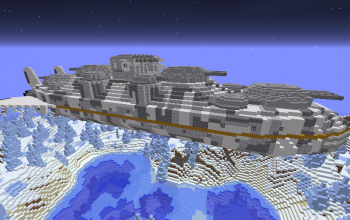 Stormcloud Class Battleship (Winter Version)