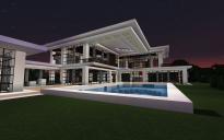 Cranberry Modern Hilltop Home