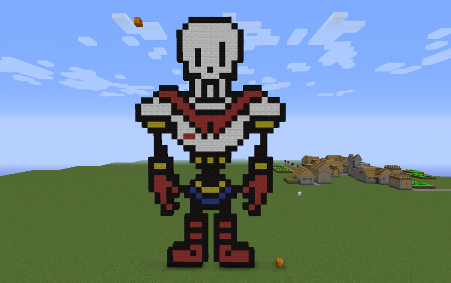Papyrus the Skeleton, creation #7150