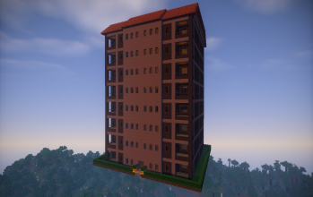 Gray Apartment Building (unfurnished)
