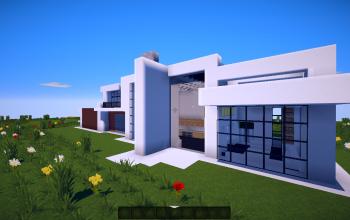 40X20White Ephesia Modern Furnished house