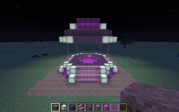 Small Purple temple