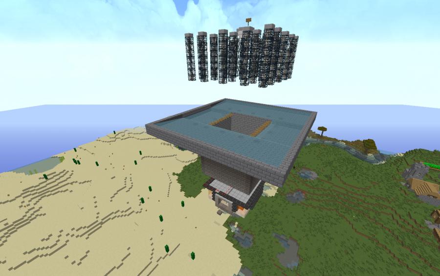 Iron Golem Spawner Farm, creation #7243