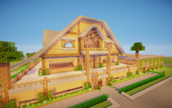Barn for Mo Creatures and Horses