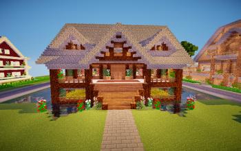 Lake House Fully Decorated