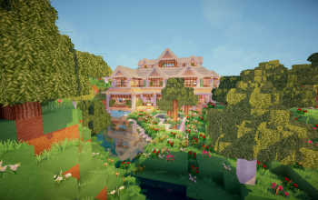 Flower Forest 2 Story House