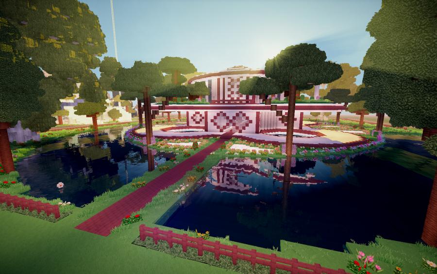 Garden Temple Spawn Creation 7320