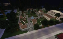 Zoo with aquarium and tropic house