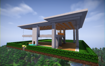 Glass Modern House (unfurnished)
