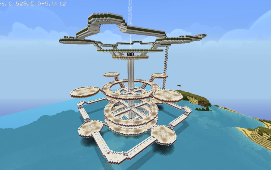 Polaris base creation 7353 for Minecraft base blueprints