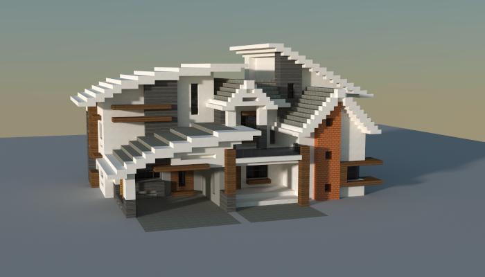 Modern House Creation 7362