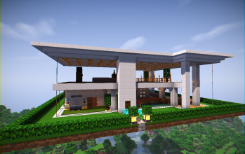 Glass Modern House (furnished)