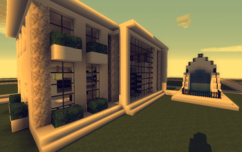 20x20 Soykan Modern Mini Mansion House