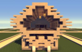 15x15Peri's Modern Rustic House