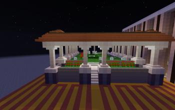 Modern pillar garden