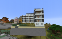Big apartment building