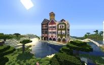 Three houses.