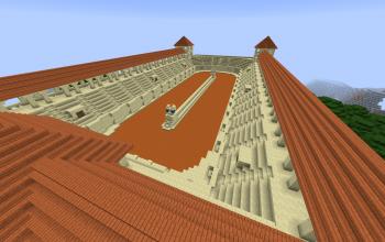 Minecraft Roman Buildings Schematics