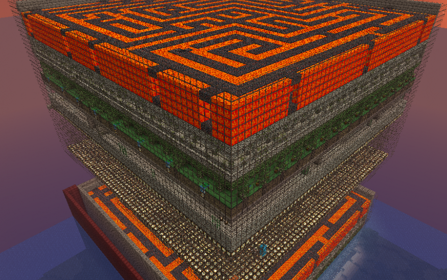 EPIC 8 level Maze, creation #780