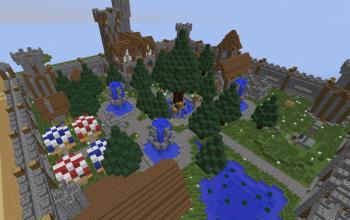 Small Medieval Village  (Server spawn?)