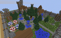 Small Medieval Village  (Server spawn?)