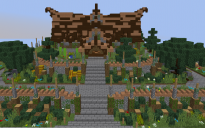 Small wooden Server Spawn