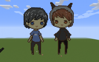 Dan and Phil Pixel Art