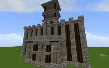 Guard Tower w/ Signal Fire