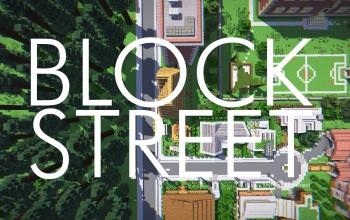 Block Street | A Minecraft Project