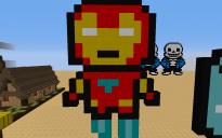 Iron Man Pixel Art