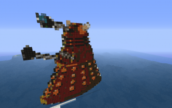 Dalek Pixel Art