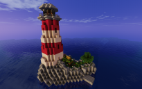 Light House (with working lights)