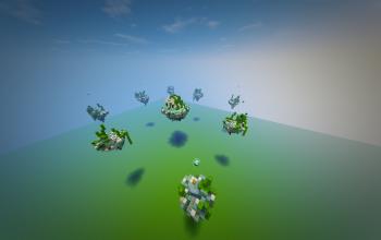 Map SkyWars (Underwater)