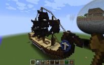 simple DIY ancient warship