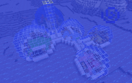 Underwater Dome Base, creation #8073