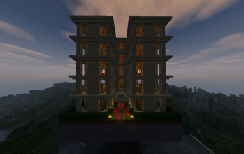 Small Sandstone Apartment Building (furnished)