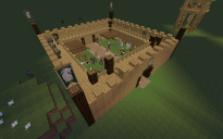 Rohan Fortress (generated) (It's a harda world schematica project: Rohan)