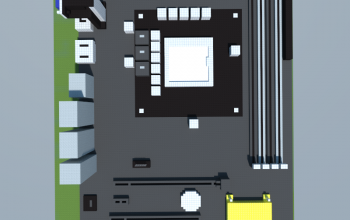 Asus D820MT Business Desktop's motherboard