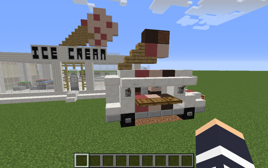 Ice Cream Shoppe and truck, creation #8185